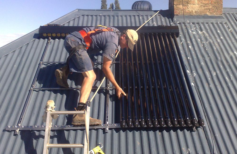 Solar Hot Water Ballarat Install