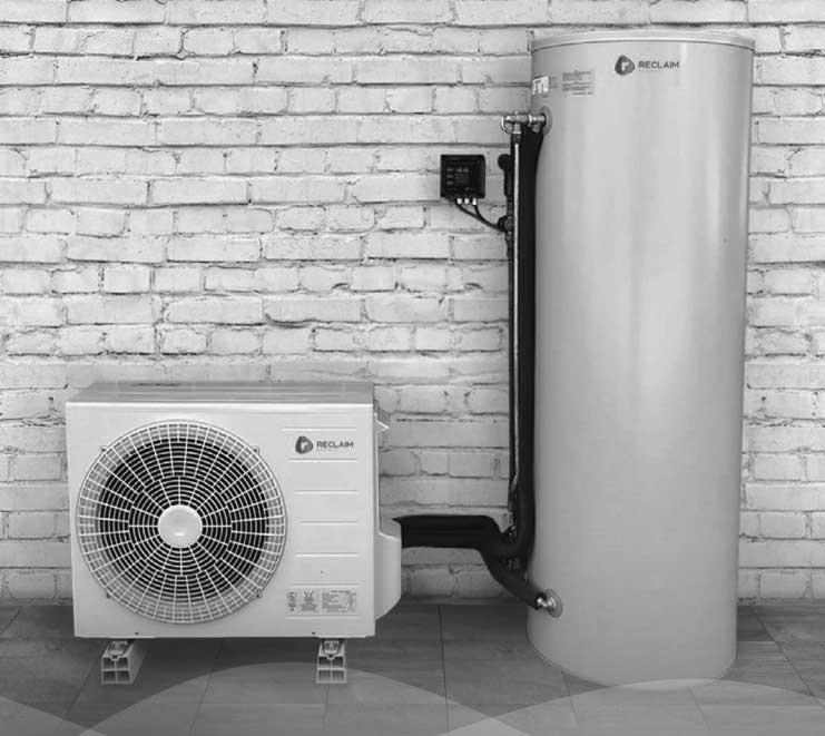 reclaim-energy heat pump